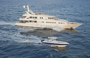 View large version of image: Motor Yacht AT LAST a 145' Heesen
