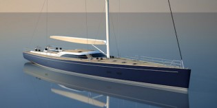 View large version of image: Baltic Yachts constructs New Superyacht by Nauta Design