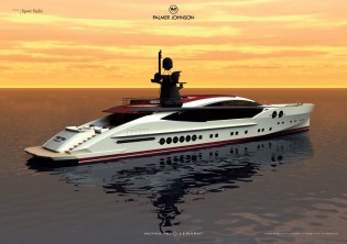 View large version of image: Update on the Palmer Johnson 170 Sport Yacht