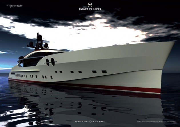 View large version of image: Image of the Palmer Johnson PJ 170 Superyacht