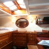 Aft cabin in SY Halloween
