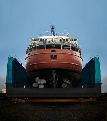 Big Deal at Derecktor – 4000 ton Dry Dock Ready for 2010