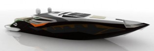 View large version of image: Carlo Cafiero's New Superyacht Design