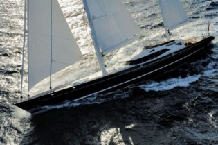 View large version of image: Sailing Yacht Drumbeat is the First to Enter New Zealand Marine Cup 2010