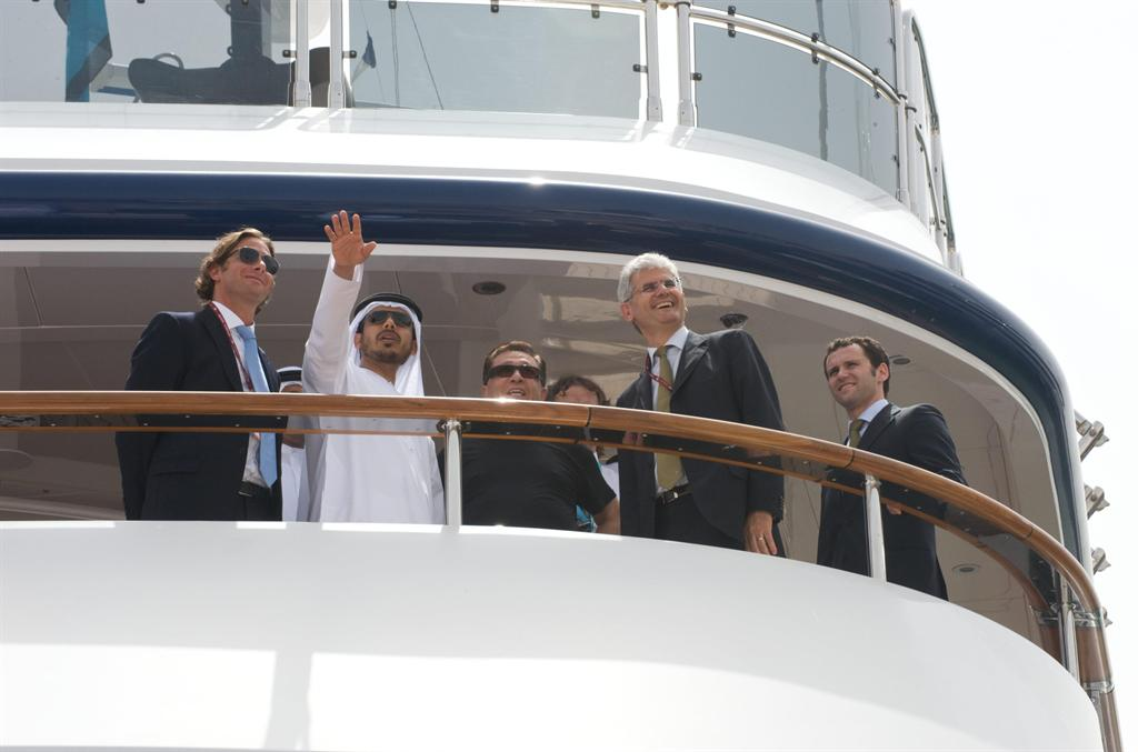 UAE Gulf Craft & Icon Yachts Holland Collaborate on a 52