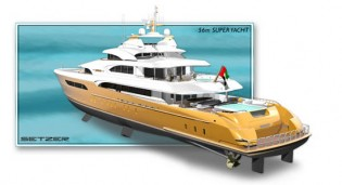 View large version of image: Setzer Design Group Presents Two New Superyacht Designs
