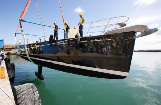 View large version of image: Southern Wind Launches Sailing Yacht THALIMA The Flagship SW 110 RS
