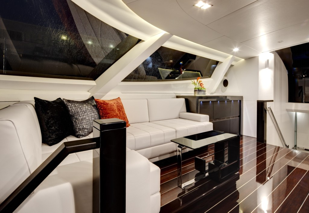 Superyacht MYSTIC's interior by Schnaase Interior Design