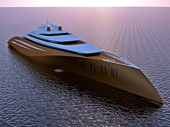 To set new records in the luxury yacht world, Emocean Yacht Design is likely ...