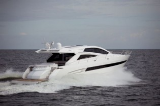 View large version of image: Tony Castro and Galeon Introduces Motor Yacht 70HT Raptor