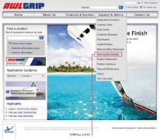View large version of image: Awlgrip Introduces New Special Effect Finishes and Paint System Selector