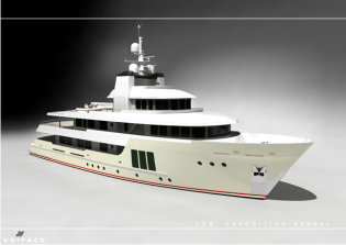 View large version of image: The 138' Vripack Expedition Vessel unveiled
