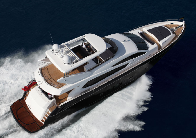 View large version of image: Sunseeker 80 - Motor Yacht by Sunseeker - 2009