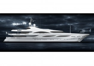 View large version of image: Fraser Yachts & Proteksan-Turquoise Announce New 72.6m Super Yacht Project