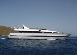 View large version of image: Alfa One - the Baglietto Super Yacht is for sale at Edmiston and also at Pacifica Yachting