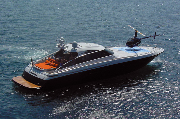 View large version of image: Baia 78 Atlantica Sport Yacht