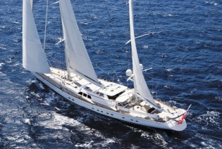 View large version of image: Royal Huisman's Sailing Yacht Ethereal Gets Zero-carbon-footprint Status for the  Second Time