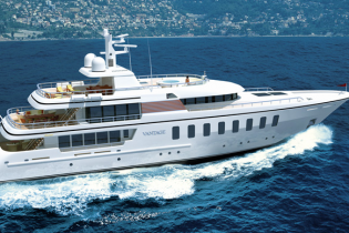 View large version of image: Superyacht Feadship F45 Vantage for sale