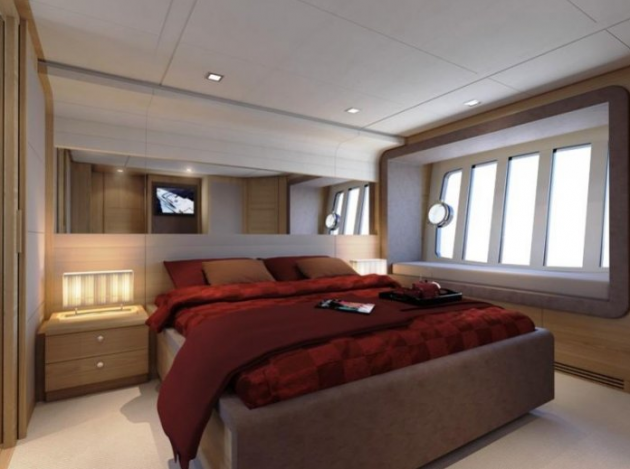 View large version of image: Ferretti 800 Super Yacht