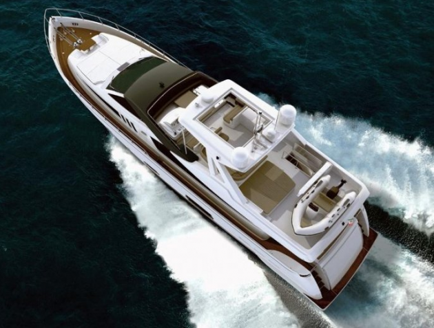 View large version of image: Immage of the Ferretti 800 Super Yacht
