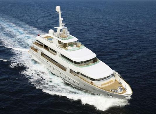 for sale luxury motor yacht free spirit by bloemsma van breemen