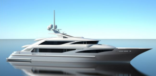 View large version of image: ISA revealed their new 63 metre motoryacht