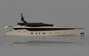 View large version of image: Superyacht Icon 54m by Hot Lab Yacht Design For Icon Yachts