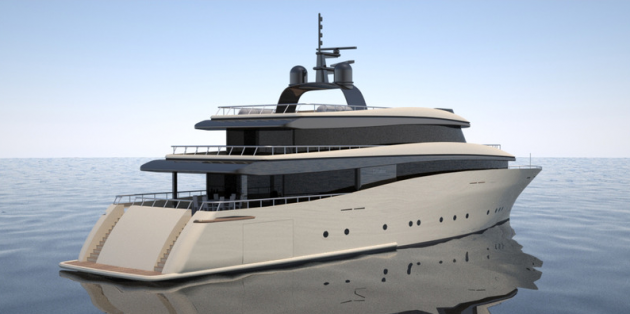 View large version of image: Leviathan Superyacht designed by 2pixel