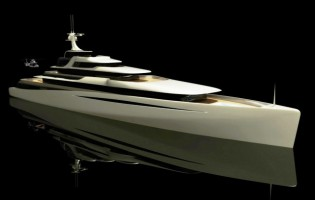 View large version of image: Oceanco PA 122 Superyacht Design Concept