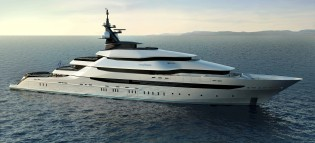 View large version of image: Oceanco at the 2010 Abu Dhabi Yacht Show