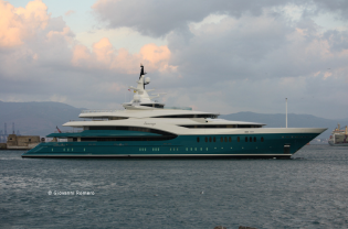 View large version of image: Yacht SUNRAYS  - Oceanco's Y705  Superyacht  completed.