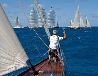 View large version of image: Perini Navi at the Saint Barths Bucket Regatta 2010