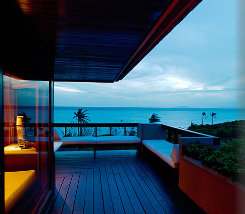 AMANPULO Luxury resort - the view