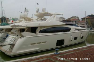 View large version of image: FERRETTI 800  -  sea test preview