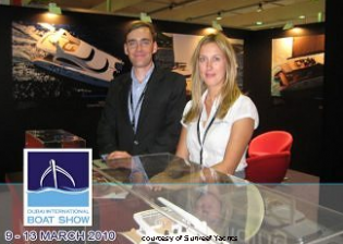View large version of image: Sunreef Yachts at the Dubai International Boat Show