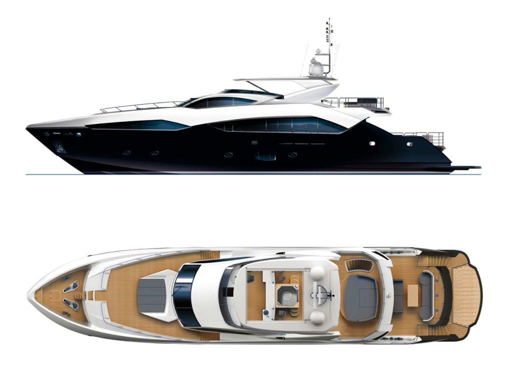 The Sunseeker Predator 115 Motor Yacht is set to be launched in 2011.