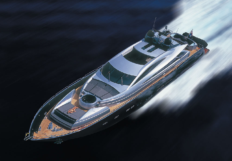 Cabins: 4. Crew: 4. Country Built: United Kingdom. Yacht Class: Motor