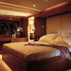 Owner's Stateroom on the Sunseeker Predator 108