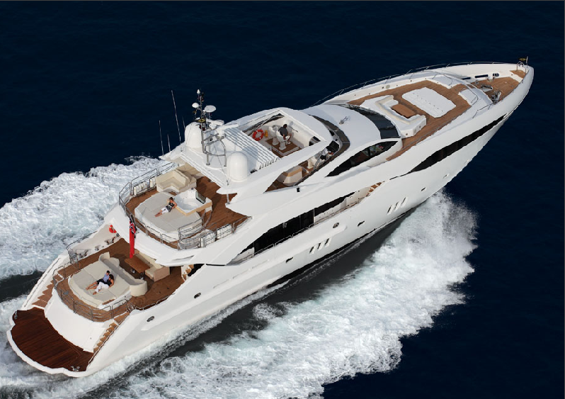 the exceptional sunseeker s predator 130 motor yacht