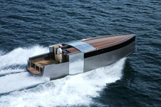View large version of image: 11m Tender Limousine by NZ Co Vaudrey Miller - For Superyacht A