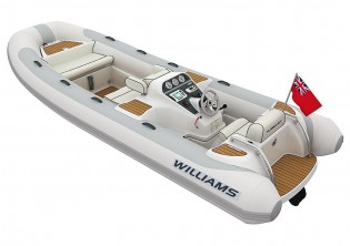 View large version of image: Williams latest 505D Turbojet Tender to be at Spring Boat Shows