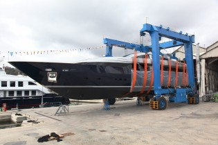 View large version of image: 42m Motor Yacht LUCKY ME launched by Cantieri Navali Baglietto