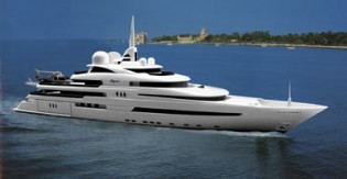 View large version of image: Motor yacht PEGASO 73m a superyacht launched in Spain by Freire Shipyard