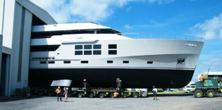 View large version of image: McMullen and Wing Launches Super Yacht Big Fish