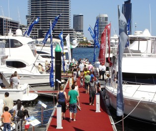 View large version of image: The Annual Melbourne Boat Show Promises Great Year With Its 50th Anniversary
