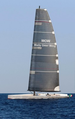 View large version of image: Wally & Omer Wing Sail Presents WOW : Wing Sail Technology for Large Cruising Yachts