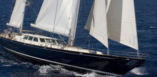 View large version of image: Royal Huisman's Sailing yacht William Tai is World Superyacht Awards 2010 Finalist