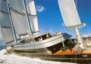 View large version of image: Sailing Yacht Maltese Falcon signs up for racing in Palma Superyacht Cup 2010