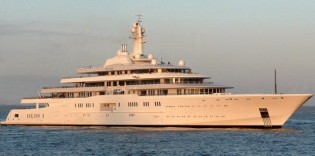 View large version of image: The World's Largest Yacht - Motor Yacht Eclipse To Undergo Sea Trials