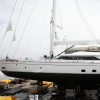 On the 24th of April the 45 metre Perini Navi superyacht FIVEA will be launched
